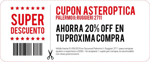 Click Aqui - Descarg� e imprim� tu cup�n :: Acced� a un 20% OFF en Palermo II: Ruggieri 2711