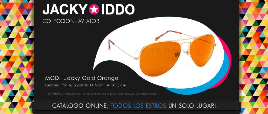 jacky gold orange