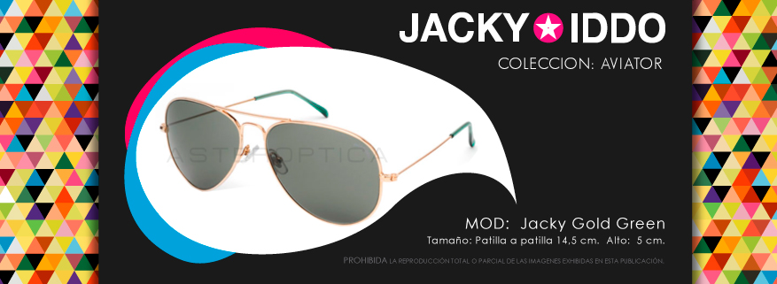 jacky gold green